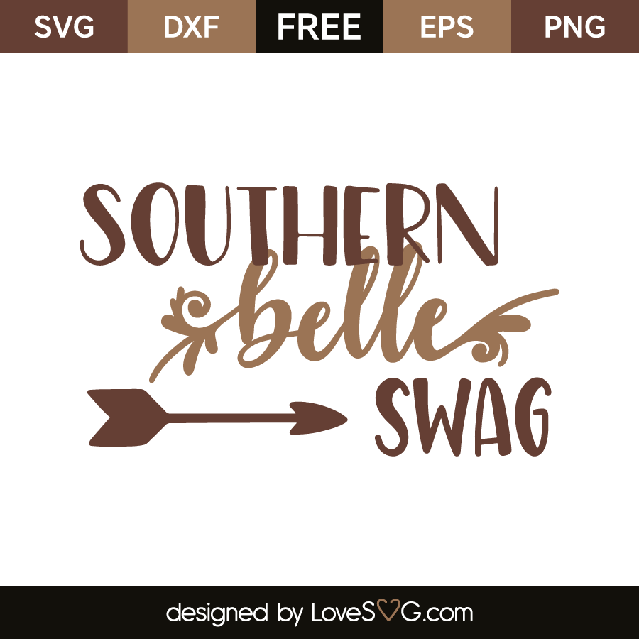 Southern belle swag