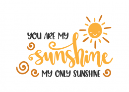 You are my shunshine my only sunshine