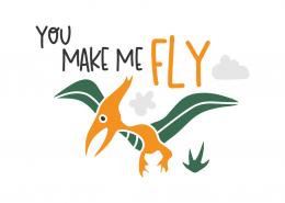 You make me fly