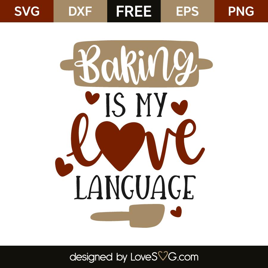 Baking is my love language