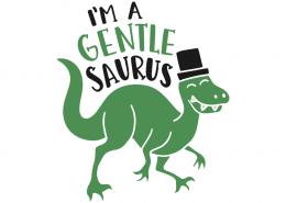 I'm a gentle saurus