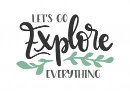 Let's go explore everything
