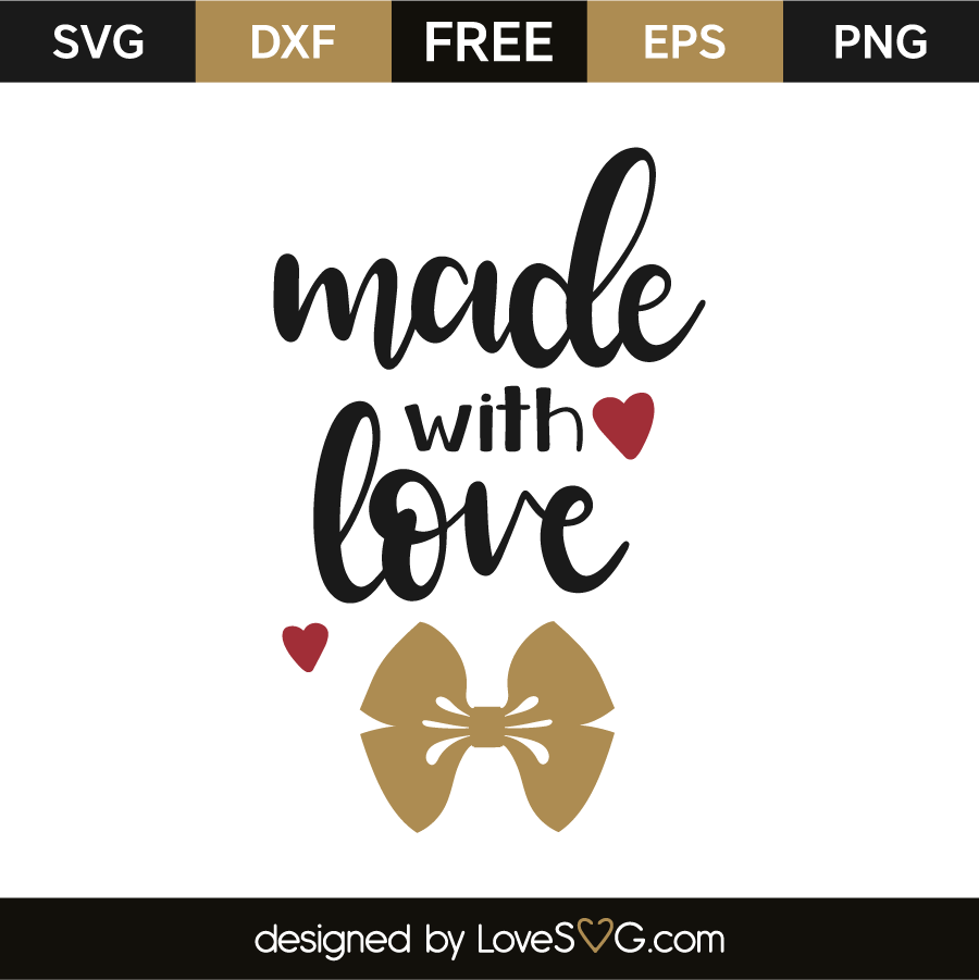 Download Made with love | Lovesvg.com