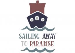 Sailing away to paradise