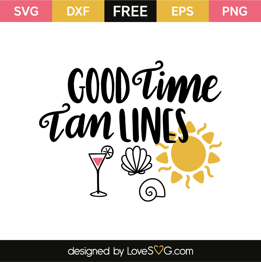 Good time tan lines