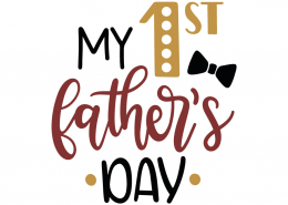 My 1st father's day