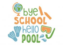 Bye school hello pool