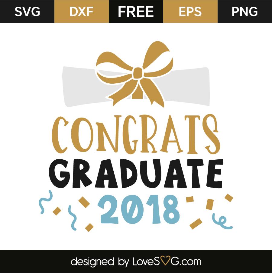 Congrats graduate 2018