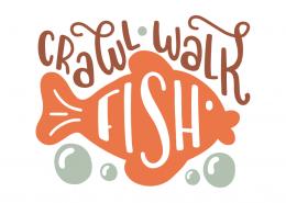 Crawl walk fish