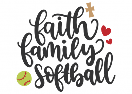 Faith family softball