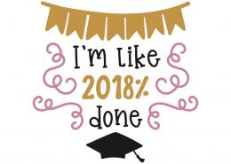 I'm like 2018% done