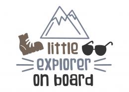 Little explorer on board