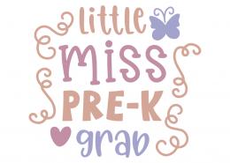 Little miss pre-k grab