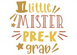 Little mister pre-k grab
