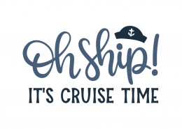 Oh ship! It's cruise time