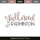 Y'all need badminton