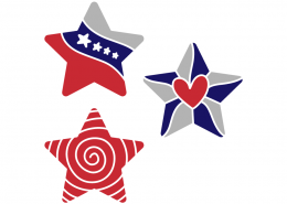 4th of july - Stars