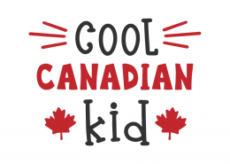 Cool Canadian kid