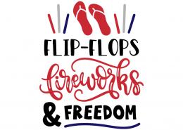 Flip flops fireworks and freedom