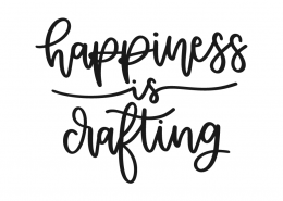 Happiness is crafting