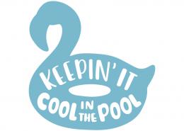 Keepin' it cool in the pool