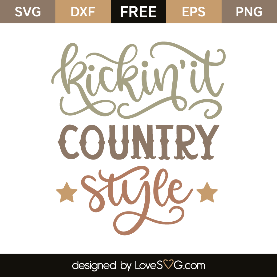 Kickin' it country style
