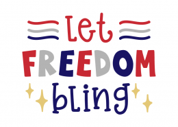 Let freedom bling