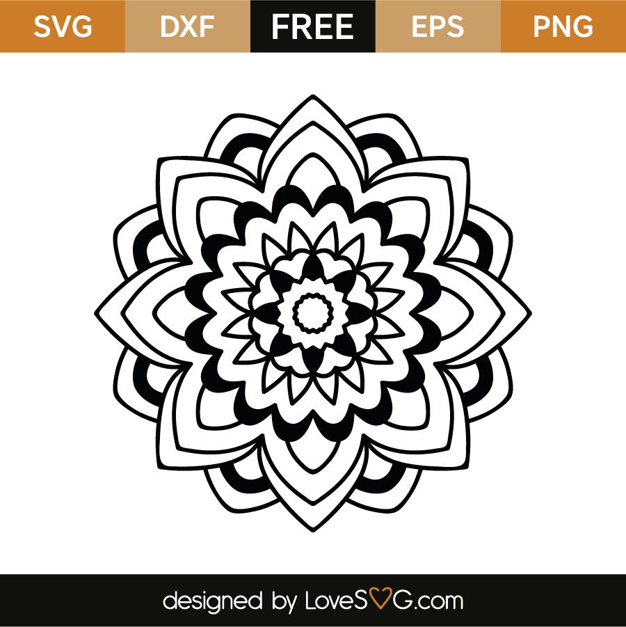 21+ Mandala Svg Free File – SVG,PNG,DXF,EPS include
