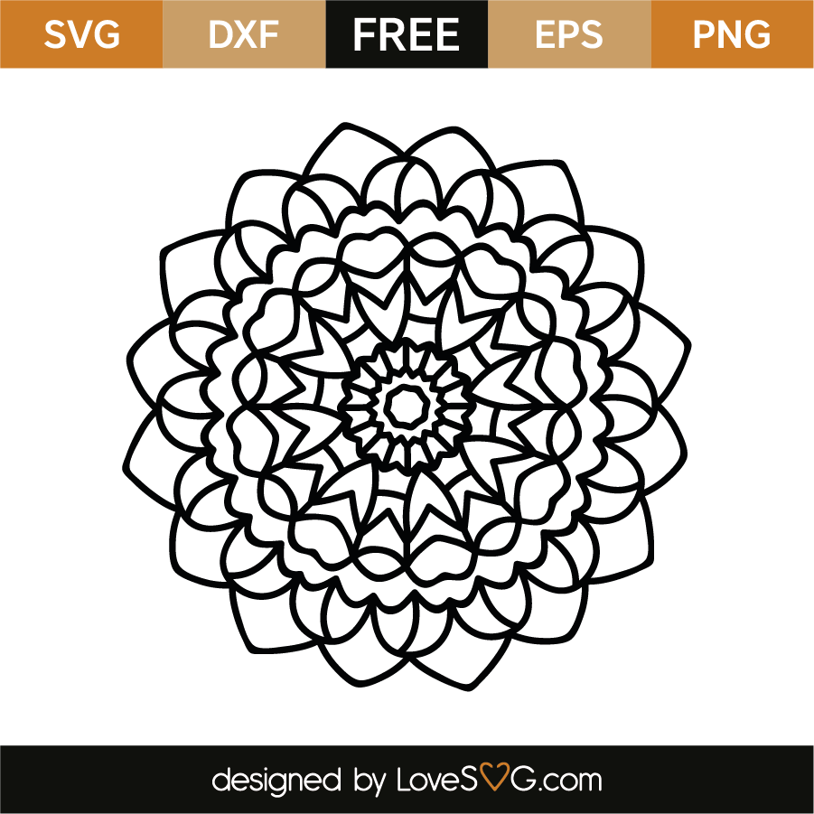 Mandala | Lovesvg.com