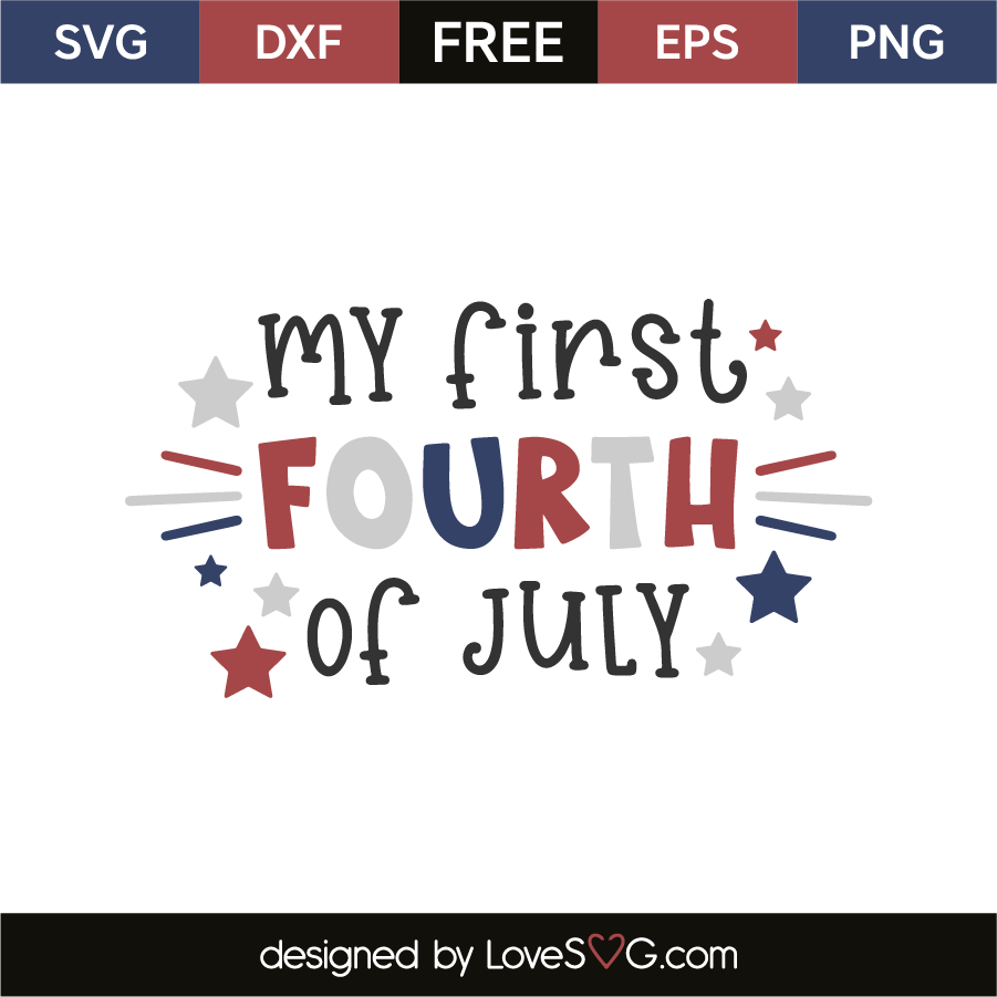 My first fourth of july