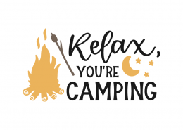 Relax, you're camping