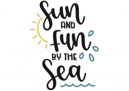 Sun and fun by the sea