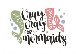Cray cray for mermaids