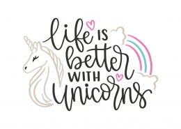 Life is better than unicorns