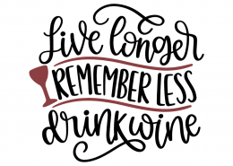 Live longer remember less drink wine