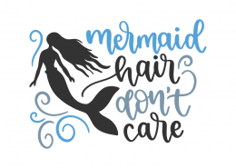Mermaid hair don't cair