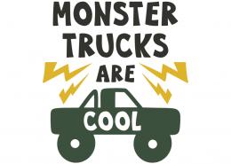 Monster trucks are cool