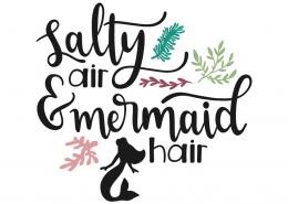 Salty air and mermaid hair