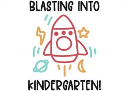 Blasting into kindergarten