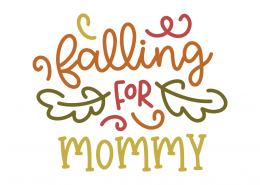 Falling for mommy