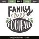Family fall football