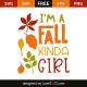 I'm a fall kinda girl