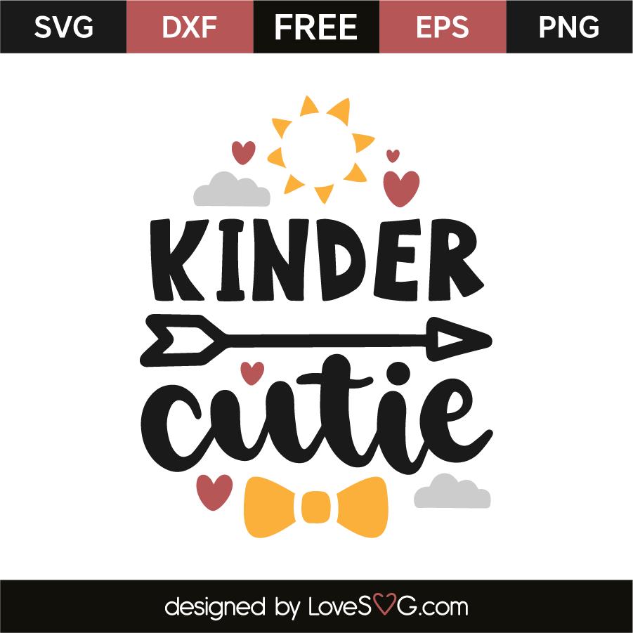 Download Kinder cutie | Lovesvg.com