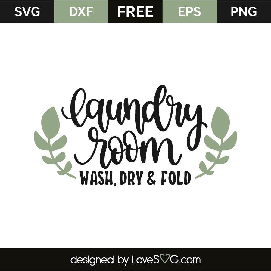 Laundry room - Wash dry & fold