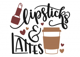 Lipsticks and lattes