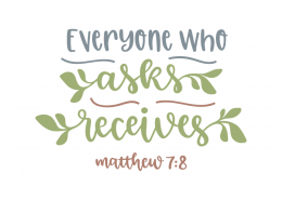 Matthews 7:8