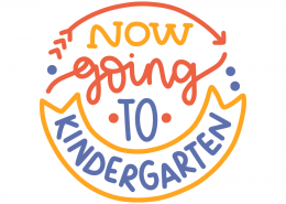 Now going to kindergarten