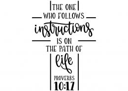 Proverbs 10:17