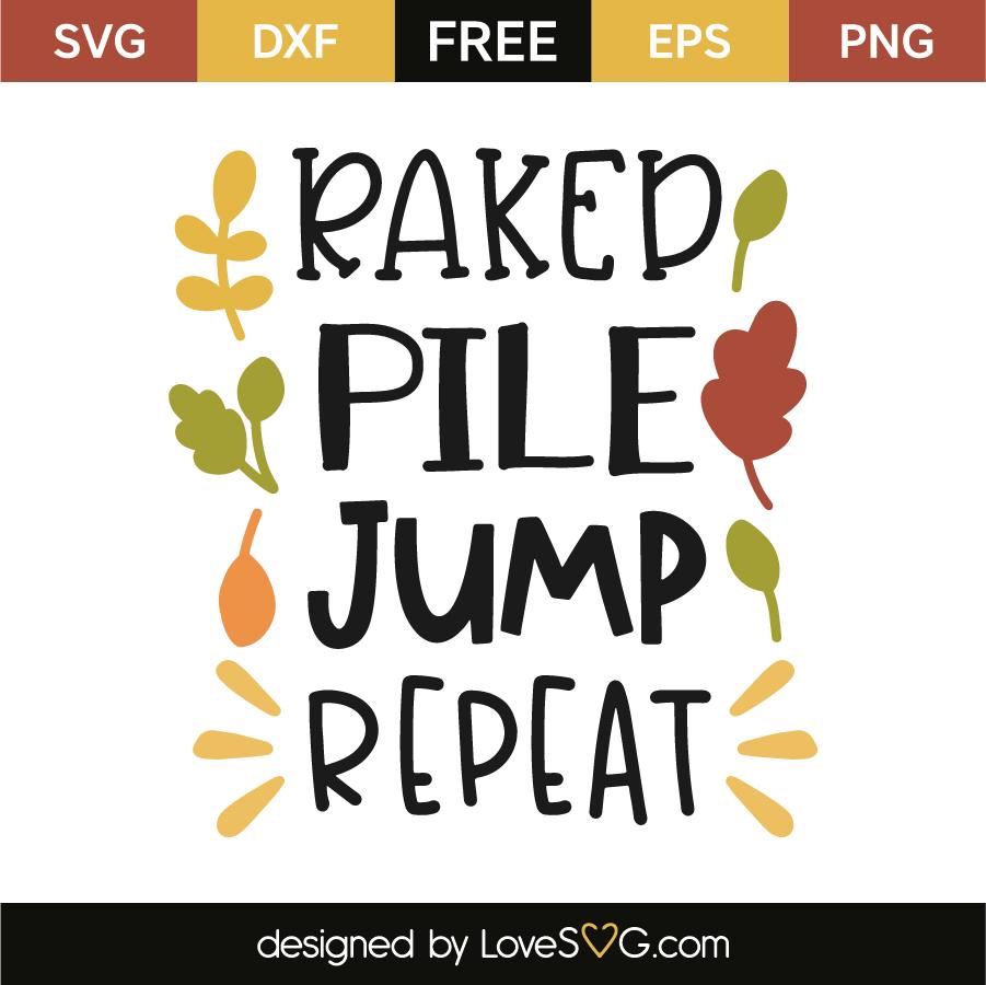 Raked pile jump repeat