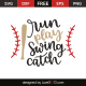 Run play swing catch